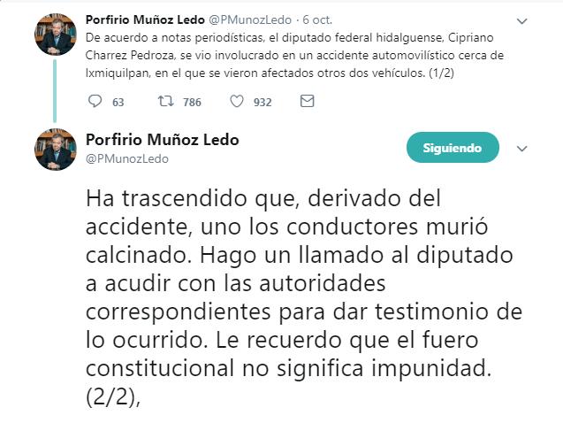 hidalgo investiga accidente diputado federal morena