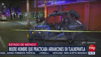 Muere hombre tras practicar arrancones en Tlalnepantla