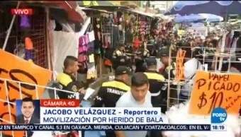 Muere un hombre por balazos en La Merced