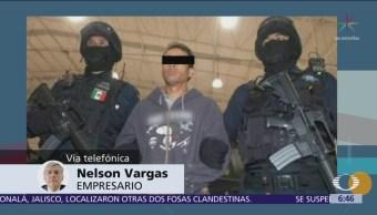 Nelson Vargas denuncia que hay dos bandas criminales denominadas 'Los Rojos'