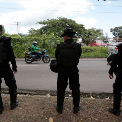 Policía exige permiso para 'toda movilización' en Nicaragua