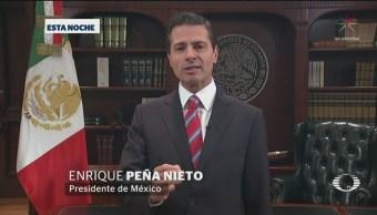 No Permitiremos Ingreso Irregular Violento México EPN