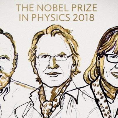 Nobel de Física para Ashkin, Mourou y Strickland por invenciones en física láser