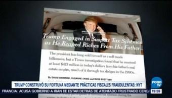Trump Construyó Fortuna Evadiendo Impuestos NYT