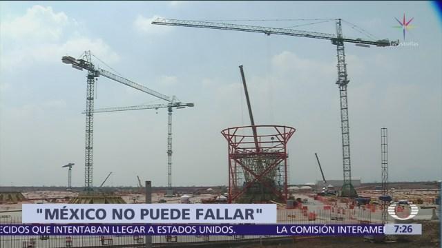 OCDE exhorta a no arriesgar prestigio de México al cancelar NAIM