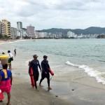 Clima Guerrero; zona de baja presión provoca oleaje elevado