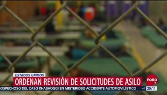 Ordenan Estados Unidos Revisar Solicitudes Asilo Familias Migrantes