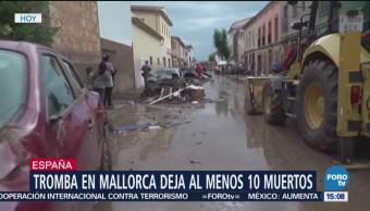 Tromba deja al menos 10 muertos en España