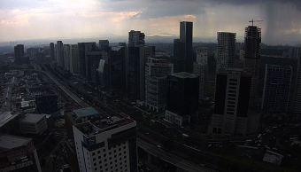 Prevén lluvias y 21 grados centígrados en la Ciudad de México