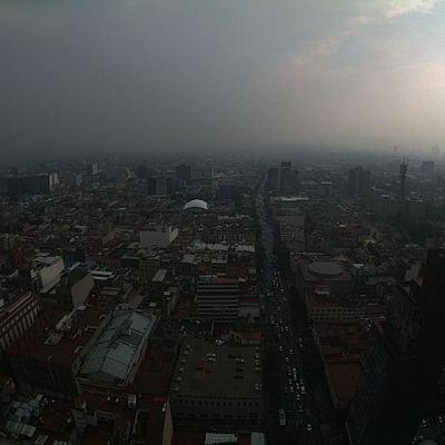 Prevén lluvias y 25 grados centígrados para la Ciudad de México