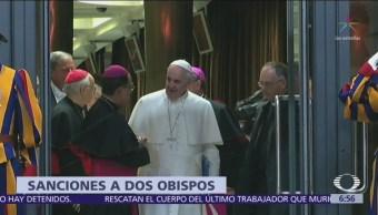 Papa Francisco expulsa a dos obispos chilenos acusados de abuso sexual
