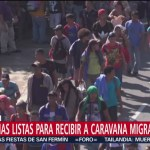 Parroquias se preparan para recibir a la caravana migrante en Querétaro