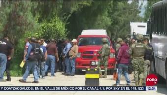 Persecución termina en enfrentamiento en Texcoco