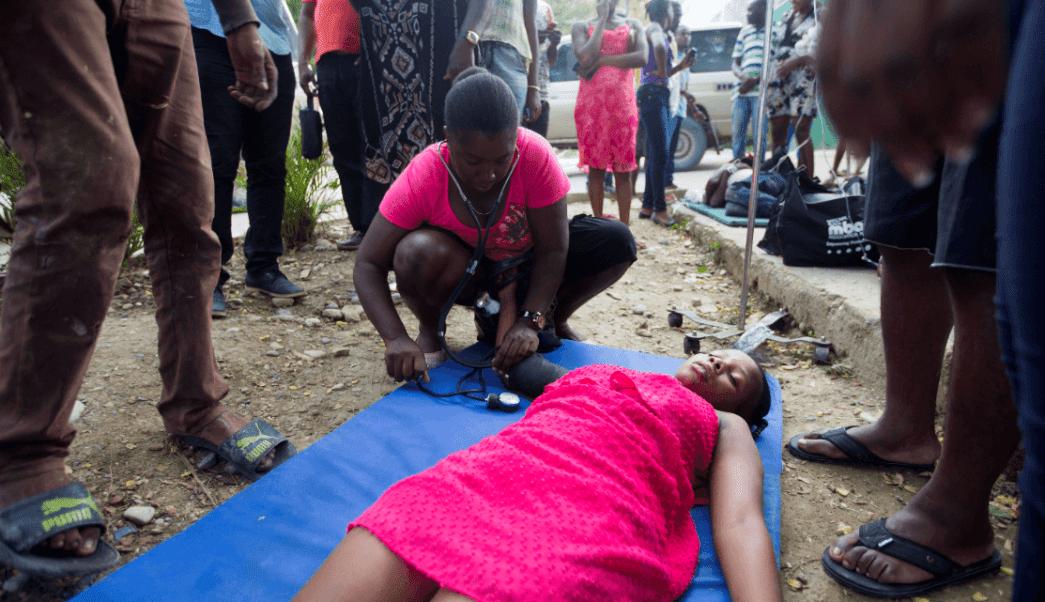 Sismo Haití: Precariedad en hospital afecta a víctimas