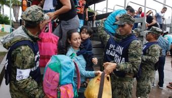 Sinaloa está en alerta por el huracán Willa