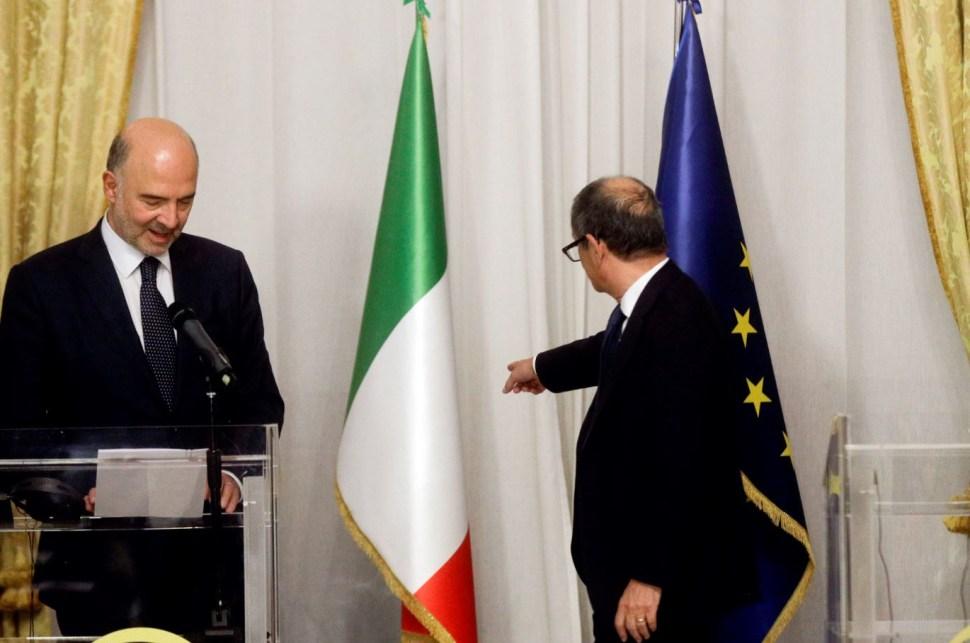 Plan de presupuesto de Italia supone riesgo para UE MEDE
