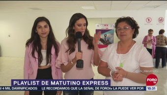Playlist de Matutnio Express con Ximena