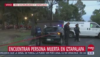 Policía repele a presunto asaltante en Iztapalapa