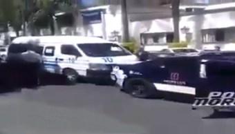 Policías de Morelos ahorcan a chofer de transporte público