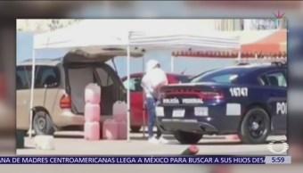 Policías federales compran combustible robado en Puebla