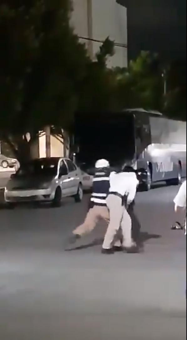 Por abuso policial dos agentes de Tránsito de Cancún son investigados