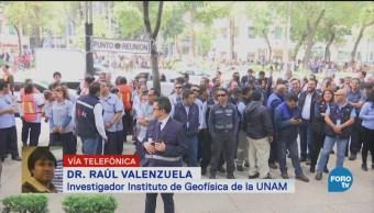 Por Qué Está Temblando Cdmx Raúl Valenzuela, Investigado Del Instituto De Geofísica De La Unam, Ciudad De México