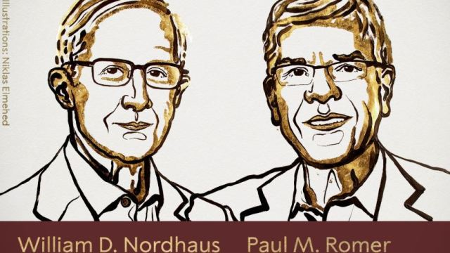 premio nobel economia 2018 william nordhaus y paul romer