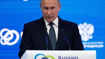 Vladimir Putin llama a Sergei Skripal un traidor a Rusia