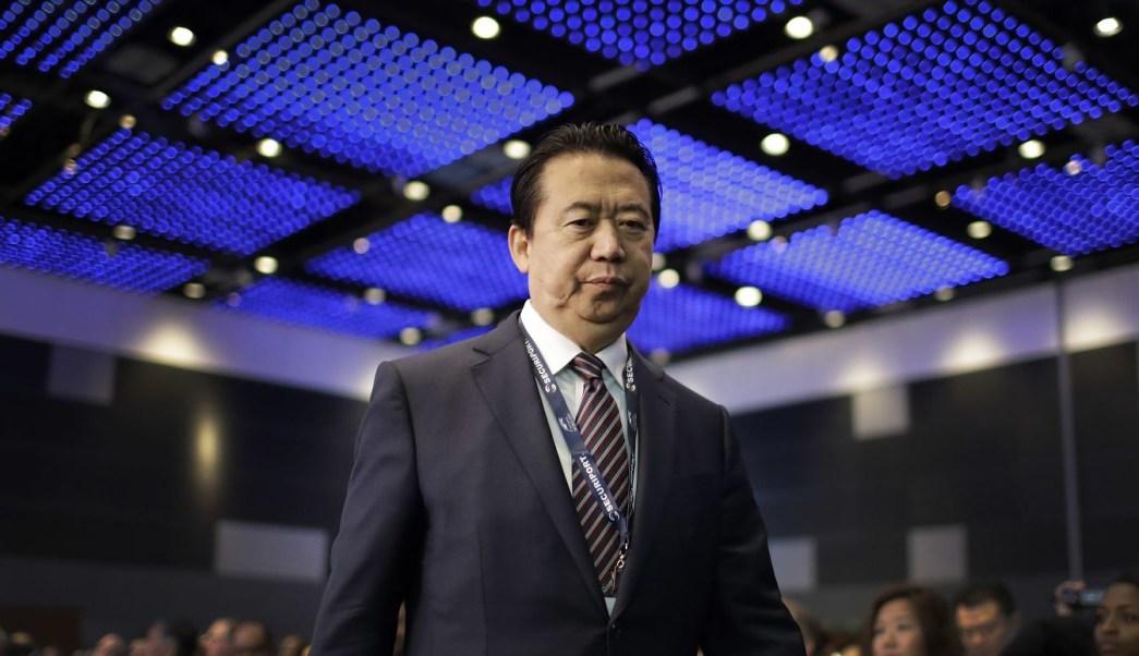 China confirma que investiga al presidente de Interpol