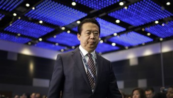 China confirma que investiga al presidente de Interpol