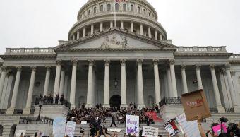Protestan en Washington por posible confirmación de Kavanaug