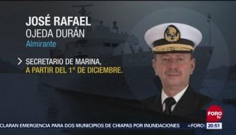 Nuevo Titular de Semar Secretario de Marina