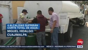 Suspenderán Servicio Agua Cdmx Mantenimiento Cutzamala