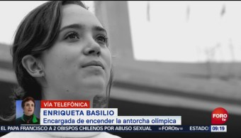 Enriqueta Basilio Enciende Sus Recuerdos Olimpiada En México