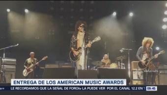 Realizan ceremonia de American Music Awards