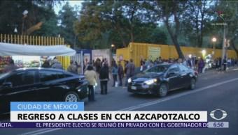 Reanudan la mayoría de las clases del CCH Azcapotzalco