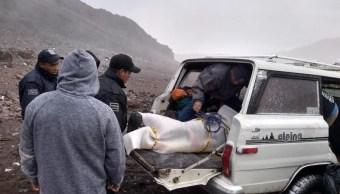 Mueren dos alpinistas al caer del Pico de Orizaba