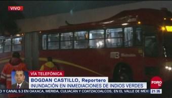 Reinicia Servicio Metrobús Insurgentes Norte CDMX