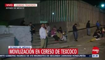 Reos Rehén Custodio Cereso Texcoco Motín