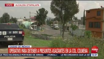 Reportan dos asaltos en la colonia La Colmena