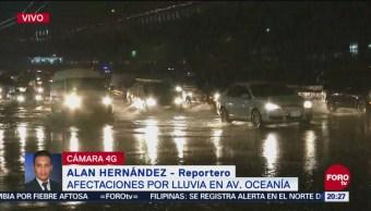 Reportan Inundaciones Caos Vial Venustiano Carranza