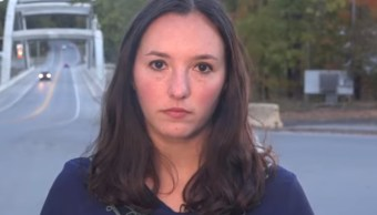 Reportera Samantha Sugerman presencia accidente de tránsito