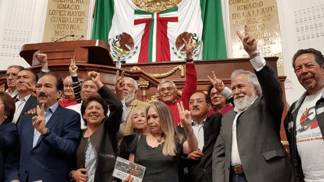 Congresistas CDMX recuerdan a víctimas del 2 de octubre