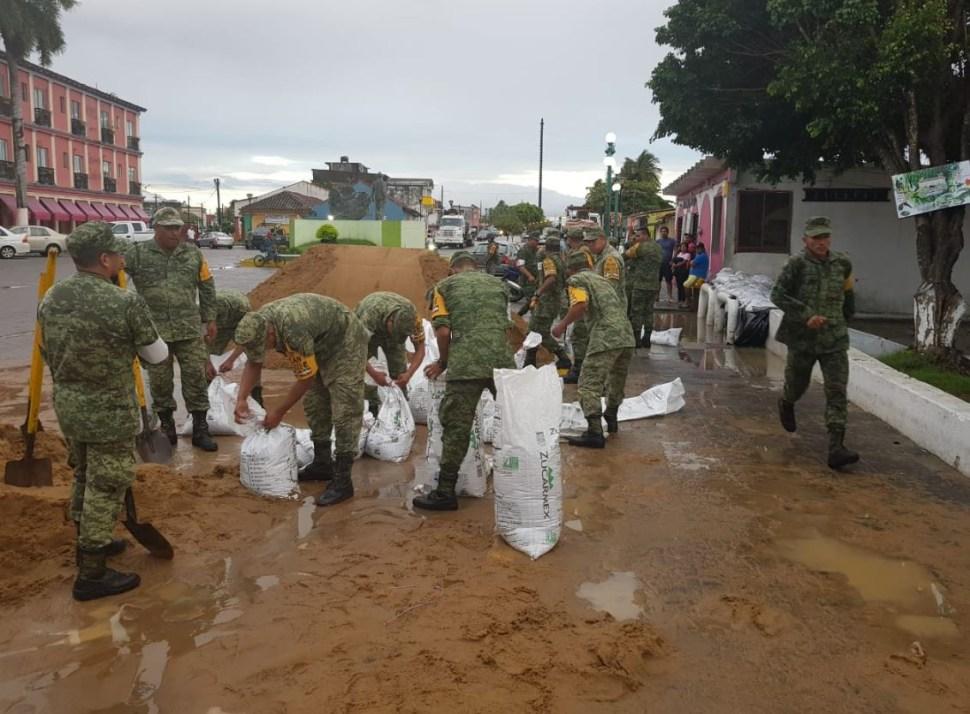 Ríos Papaloapan y Coatzacoalcos podrían desbordar