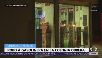 Roban gasolineras en colonia Obrera y Jardines de Coyoacán