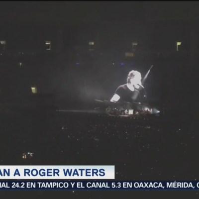 #LoEspectaculardeME: Roger Waters critica a Jair Bolsonaro en Sao Paulo