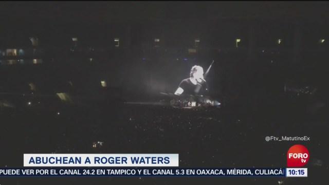Roger Waters critica a Jair Bolsonaro en Sao Paulo