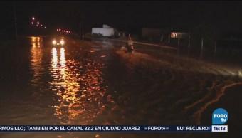'Rosa' provoca lluvias y deslaves en Colima
