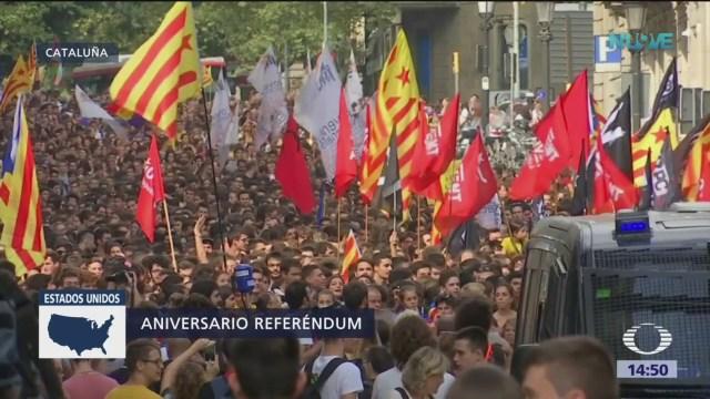 Se cumple un año de referendo independentista en Cataluña