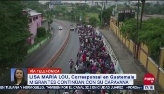 Se endurecen condiciones para caravana de migrantes